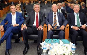 Haluk Alacaklıoğlu, Erdal Bahçıvan,Bülent Akarcalı, Ömer Dinçkök