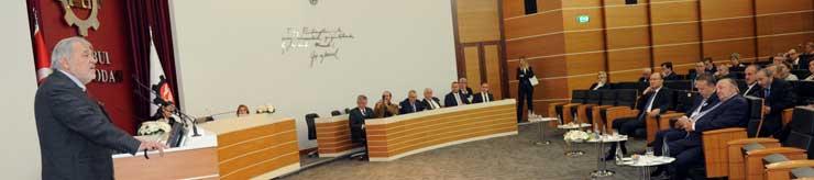 İSO'nun Ekim Meclis Toplantısında Prof. Dr. İlber Ortaylı Konuk Oldu 06