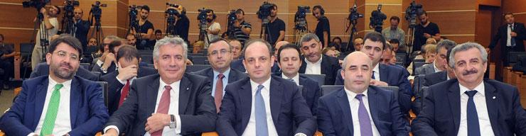Merkez Bankası Başkanı Murat Çetinkaya Reel Sektörle İlk kez İSO Meclisi'nde Buluştu 05