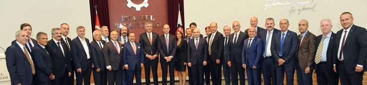 Merkez Bankası Başkanı Murat Çetinkaya Reel Sektörle İlk kez İSO Meclisi'nde Buluştu 02