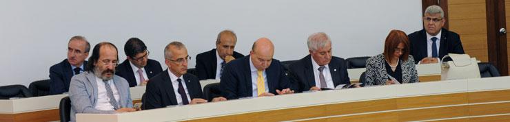 Bakan Zeybekci'nin Konuk Olduğu Meclis Toplantısında Üretim Ekonomisi Konuşuldu 01
