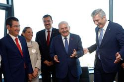 Başbakan Binali Yıldırım, Yenilenen Odakule'yi Açarak İSO Meclisi'ne Katıldı 07
