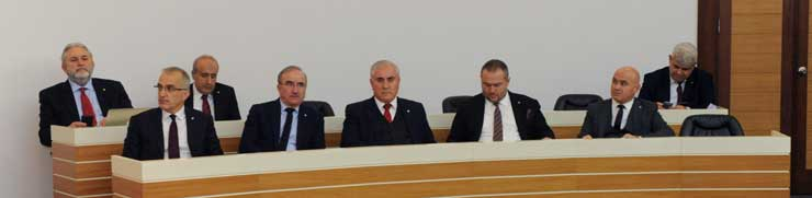 """İSO Ocak Meclisi'nde """"Yeni Bir Üniversite Sanayi İş Birliği Modeli"""" Konuşuldu 05"""