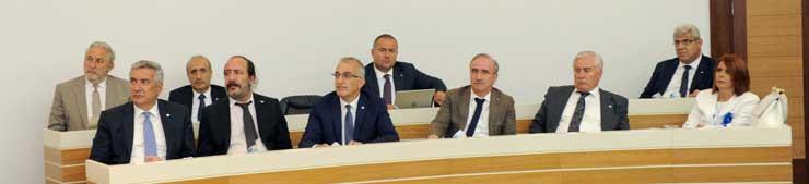 İSO Meclisi'nde, İklim Değişikliğinin Ekonomiye ve Sanayiye Etkisi Konuşuldu 06