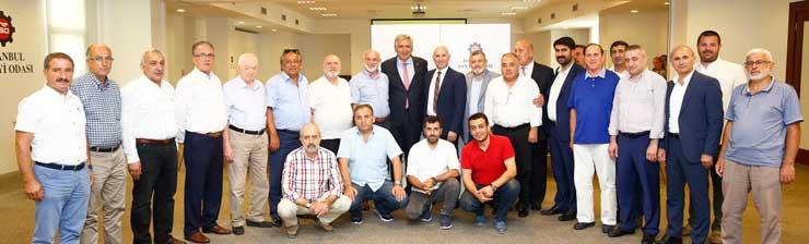 Mega Center Kuru Gıda Hali Yönetimi Bahçıvan'ı Ziyaret Etti