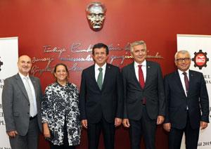 MESKOM Toplantısı, Bakan Zeybekci'nin Katılımı ve Üyelerin Yoğun İlgisiyle Yapıldı 01