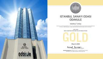 Odakule Binası LEED Gold Sertifikasının Sahibi Oldu 01