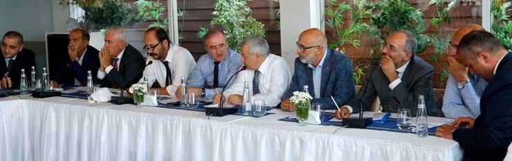 İstanbul Odaları Müşterek Yönetim Kurulları Toplantısı DTO Ev Sahipliğinde Yapıldı