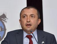 İstanbul Kimyevi Maddeler ve Mamulleri İhracatçıları Birliği (İKMİB) Başkanı Murat Akyüz