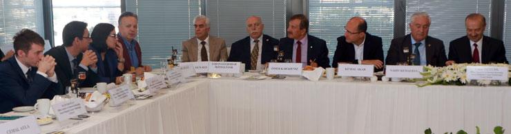 İSO, OSB'ler ile İlgili Olarak Sanayicilerle Sanayi Bakanlığı Yetkililerini Buluşturdu 01