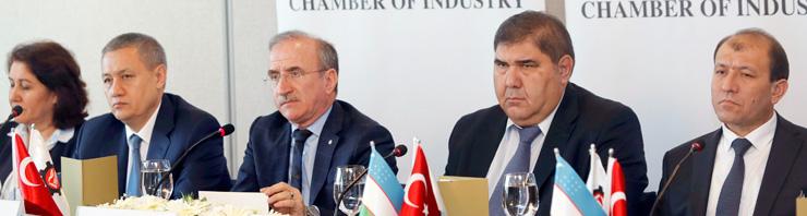 İSO, Özbekistan Başbakan Yardımcısı Azimov ve Beraberindeki Heyeti Ağırladı 02