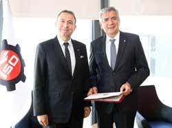 Plastik Sanayicileri İSO Başkanı Erdal Bahçıvan'ı Ziyaret Etti 01