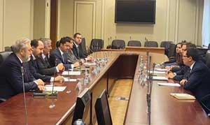 İSO Yönetimi, Moskova'da, Rusya Ekonomi Kalkınma Bakanlığı'yla Görüştü