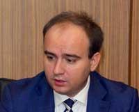 Tula Bölgesi Vali Yardımcısı<br />Fedorischev Vyacheslav
