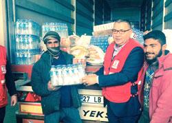 İstanbul Sanayi Odası, Kilis'teki Suriyeli Mültecilere Yardım Elini Uzattı 01