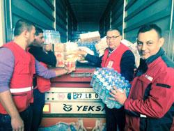 İstanbul Sanayi Odası, Kilis'teki Suriyeli Mültecilere Yardım Elini Uzattı 02