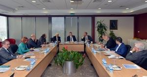 İstanbul Tahkim Merkezi Başkanı Prof. Dr. Ziya Akıncı, İSO Yönetimine ISTAC'ı Anlattı