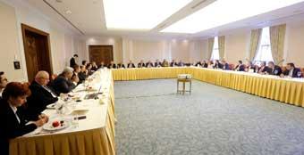 İstanbul Sanayi Odası ve Türkiye Bankalar Birliği Yönetimleri Çalışma Toplantısında Bir Araya Geldi