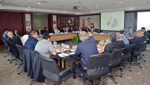 Tekstil ve Tekstil Makinesi Temsilcileri İSO'da Koordinasyon Toplantısı Yaptı 01