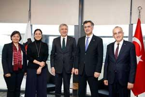 TGSD Yönetimi, İSO Başkanı Bahçıvan'a Nezaket Ziyareti Yaptı 01