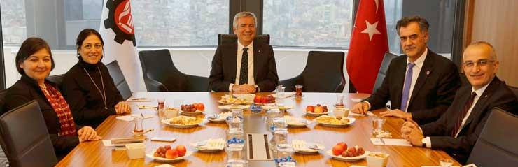 TGSD Yönetimi, İSO Başkanı Bahçıvan'a Nezaket Ziyareti Yaptı 02