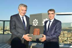 TİGSAD'ın Yeni Yönetim Kurulu'ndan İSO Başkanı Bahçıvan'a Nezaket Ziyareti 01
