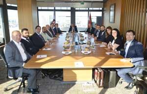 TİGSAD'ın Yeni Yönetim Kurulu'ndan İSO Başkanı Bahçıvan'a Nezaket Ziyareti 02