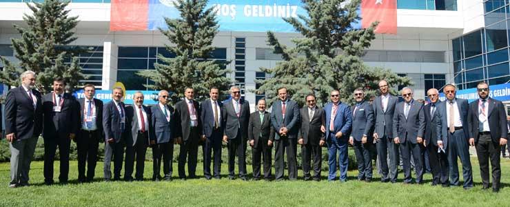 Türkiye Odalar ve Borsalar Birliği'nin 74. Genel Kurulu Ankara'da Yapıldı 01