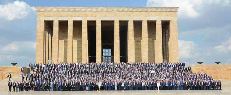 Türkiye Odalar ve Borsalar Birliği'nin 74. Genel Kurulu Ankara'da Yapıldı 04