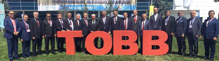 Türkiye Odalar ve Borsalar Birliği'nin 74. Genel Kurulu Ankara'da Yapıldı 05