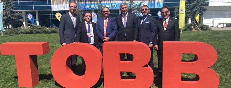 Türkiye Odalar ve Borsalar Birliği'nin 74. Genel Kurulu Ankara'da Yapıldı 06
