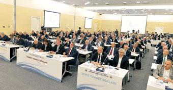 TOBB Müşterek Konsey Toplantısı, Gümrük ve Ticaret Bakanı Tüfenkci'nin Katılımıyla Yapıldı 02
