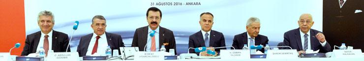TOBB Müşterek Konsey Toplantısı, Gümrük ve Ticaret Bakanı Tüfenkci'nin Katılımıyla Yapıldı 01