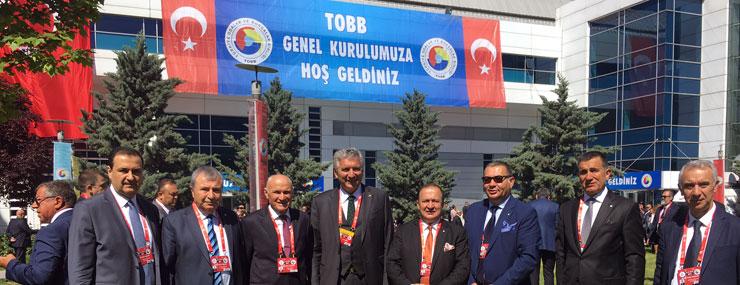 TOBB 73. Genel Kurulu, Cumhurbaşkanı Recep Tayyip Erdoğan'ın Katılımıyla Yapıldı 01