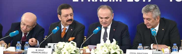 TOBB Sanayi Odaları Konseyi Toplantısı Sanayi Bakanı Özlü'nün Katılımıyla Yapıldı 04