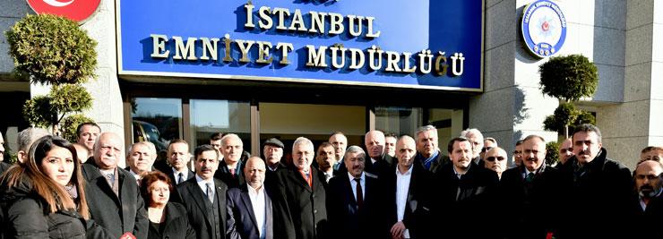 Türkiye'nin Önde Gelen 14 STK'sını Temsil Eden Heyet Taziye Ziyaretleri Yaptı 02