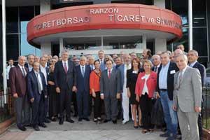 İstanbul Sanayi Odası Meclis Üyeleri Trabzon'u Ziyaret Etti 05
