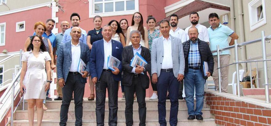 Mesleki Eğitim Projesi kapsamında Protokol Yürütme Kurulu Toplantıları Başladı