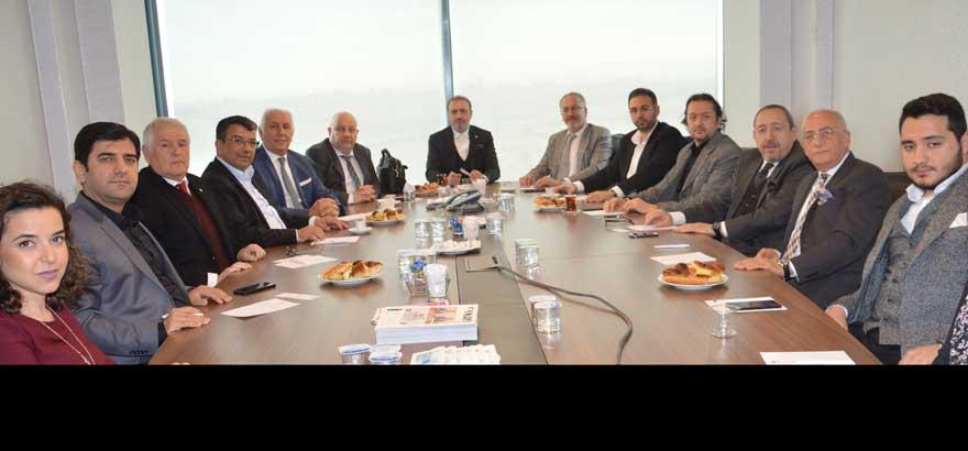 Odamız 14. Grup ve İstanbul Ticaret Odası 40. Grup Meslek Komitesi Üyeleri ile Ortak Toplantı Gerçekleştirildi