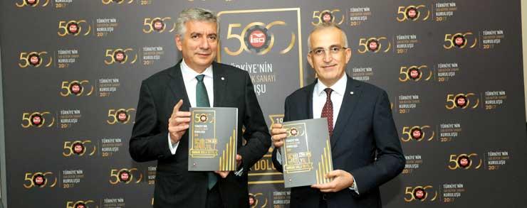"""İSO, """"Türkiye'nin 500 Büyük Sanayi Kuruluşu 2017"""" Araştırmasını Açıkladı 24"""