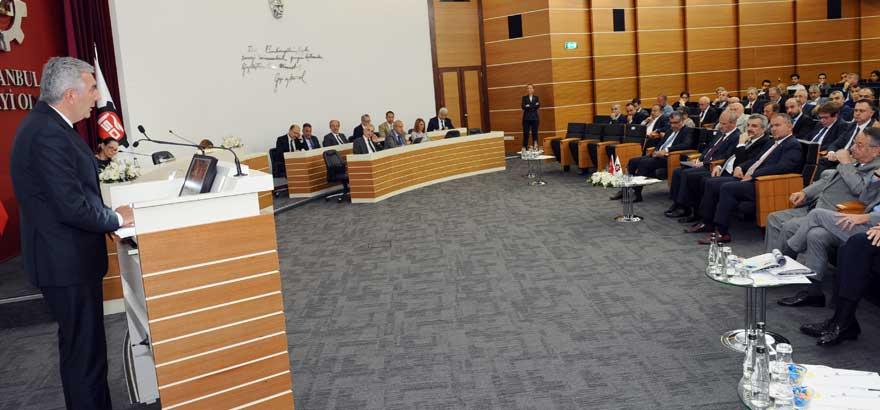 İSO, Temmuz Meclisi Toplantısında, Ulaştırma ve Altyapı Bakanı Cahit Turhan'ı Ağırladı