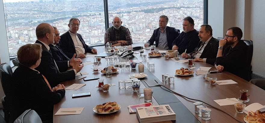 Odamız 48. Grup Meslek Komitesi ile Bursa Ticaret ve Sanayi Odası'nın 48. Grup Meslek Komitesi Nisan Ayı Meslek Komitesi Toplantılarını Birlikte Gerçekleştirdi