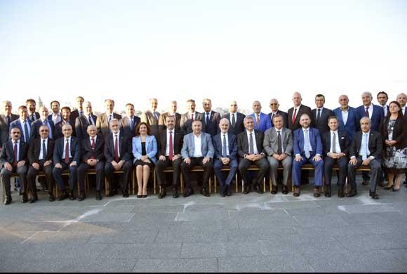İSO, İTO, İMEAK DTO ve İSTİB Yönetimleri Ortak Çalışma Toplantısında Bir Araya Geldi