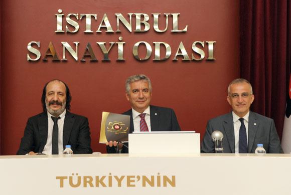 """İSO """"Türkiye'nin 500 Büyük Sanayi Kuruluşu-2014"""" Araştırmasını Açıkladı"""