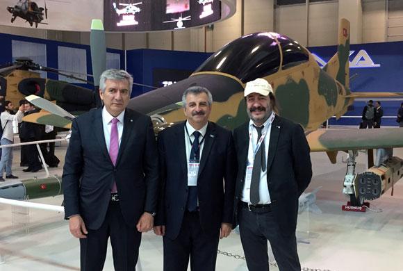 İSO Yönetimi Savunma  Sanayi Fuarı IDEF'i Ziyaret Etti