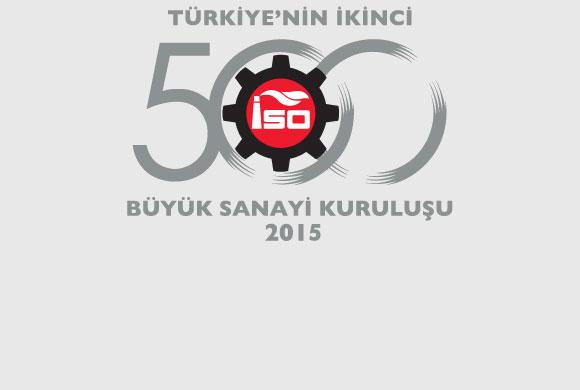 """İSO, """"Türkiye'nin İkinci 500 Büyük Sanayi Kuruluşu-2015"""" Araştırmasının Sonuçlarını Açıkladı"""