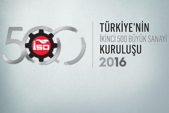 """ICI Announces """"Turkey's Second Top 500 Industrial Enterprises 2016"""" Survey Results"""
