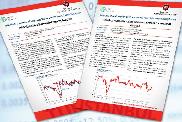 İstanbul Chamber of Industry Turkey and İstanbul PMI August 2019 Reports Were Announced