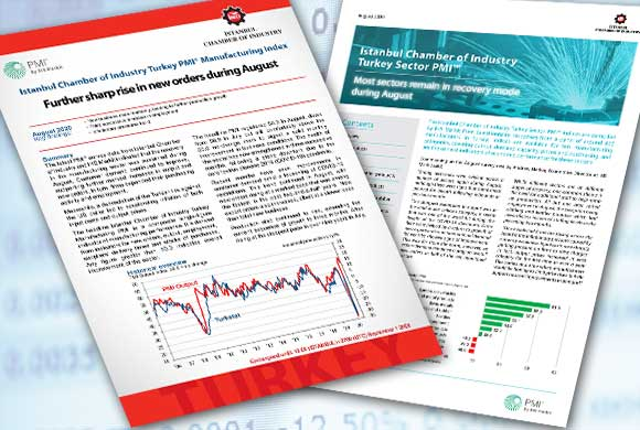 ICI Turkish Manufacturing PMI August 2020 Report and Turkish Sectoral PMI Report Were Announced