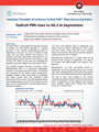 Istanbul Chamber of Industry Announces the Turkey and Istanbul PMI Manufacturing Survey Results for September 2016